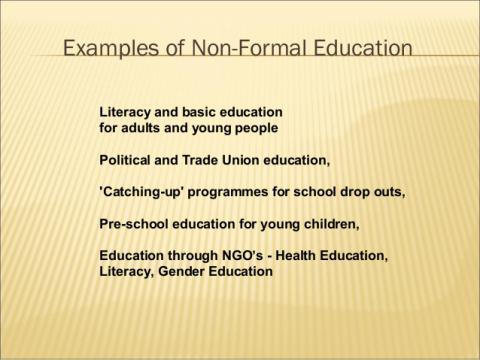 disadvantages of formal education
